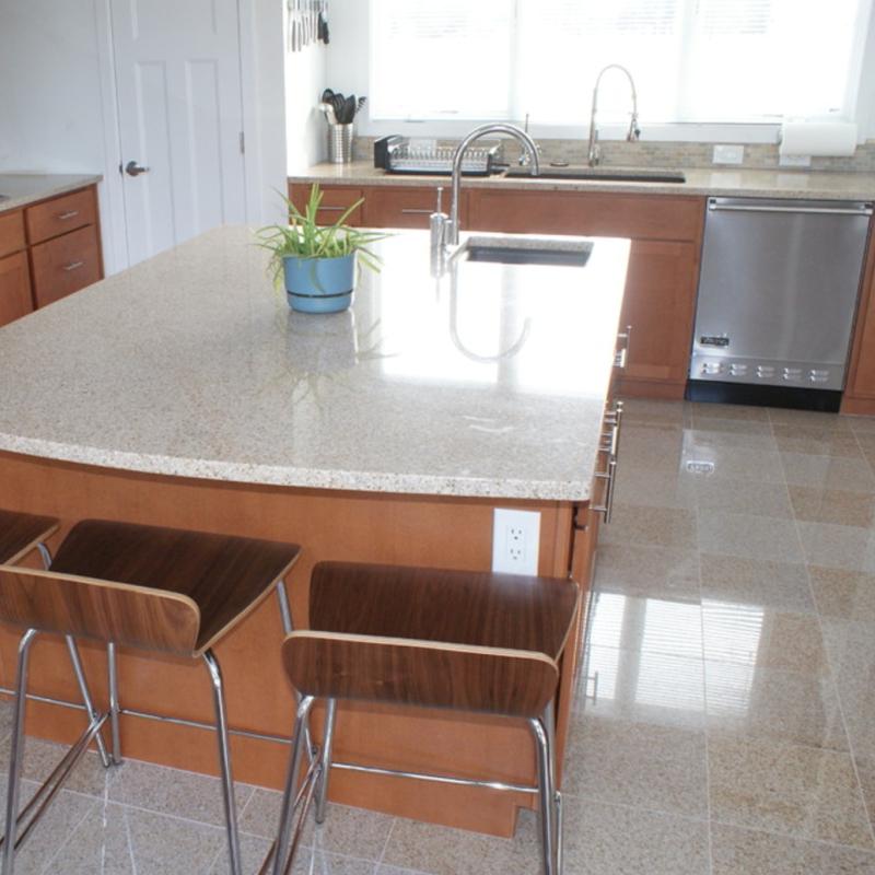 6 Granite Tile Floor Inspirations For