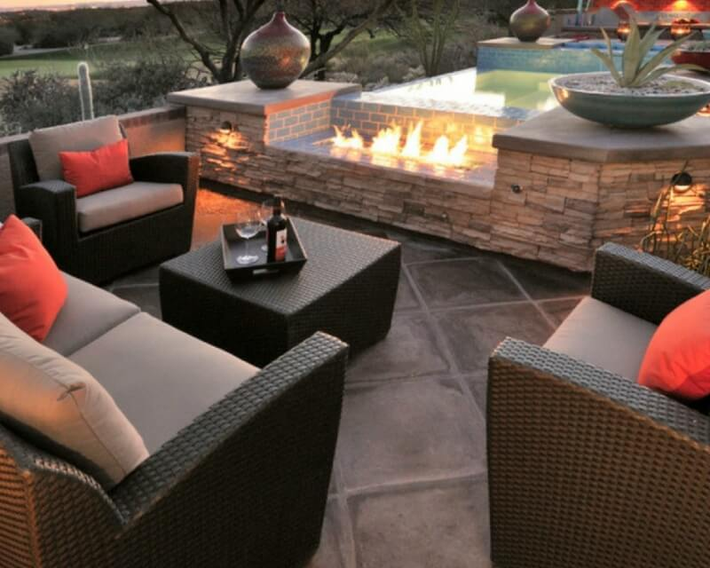 Outdoor Oasis: Choosing Between Travertine Ti