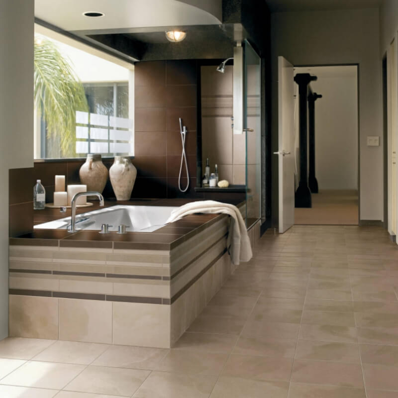 18x18 Tile In Small Bathroom: Double Take: 5 Porcelain Tiles You Won't Believe Aren't Marble