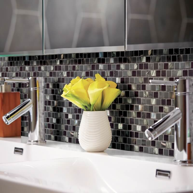 Mosaic Monday Rethink Modern With These 5 Metal Tile