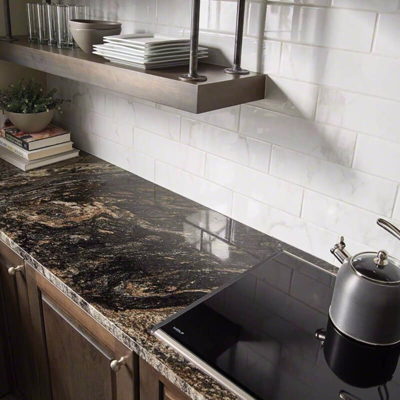 5 Black Natural Granite Countertops For An Upscale Luxury Kitchen