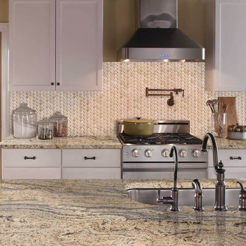5 Natural Marble Basketweave Mosaics Texture And Ultimate Luxury