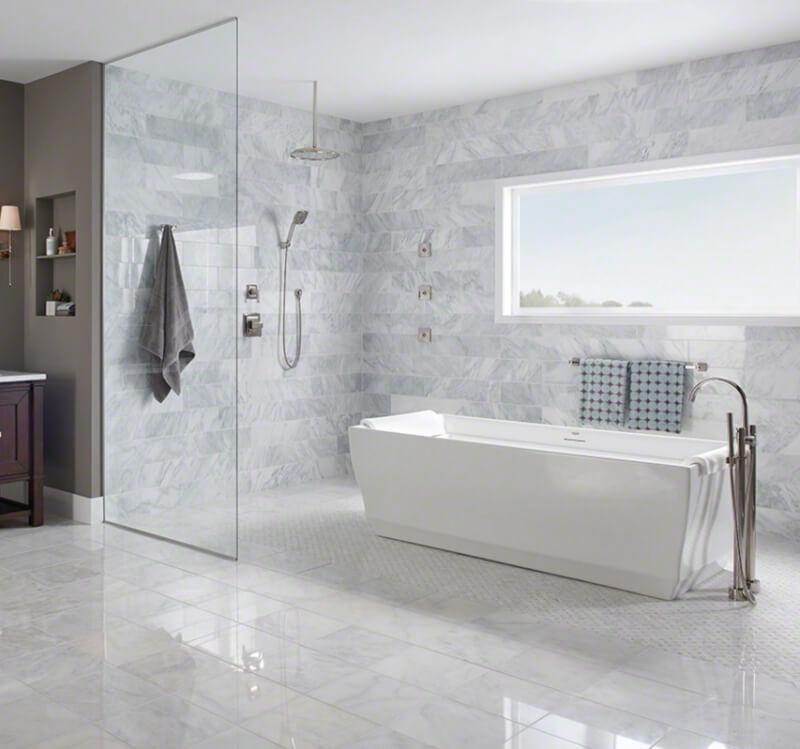 7 Unique Subway Tile Bathroom Remodels