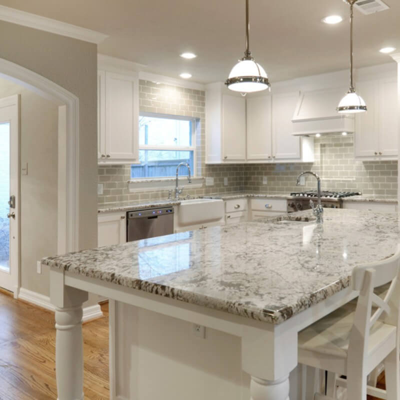 Perfect White Granite Kitchen Countertops for Every Style