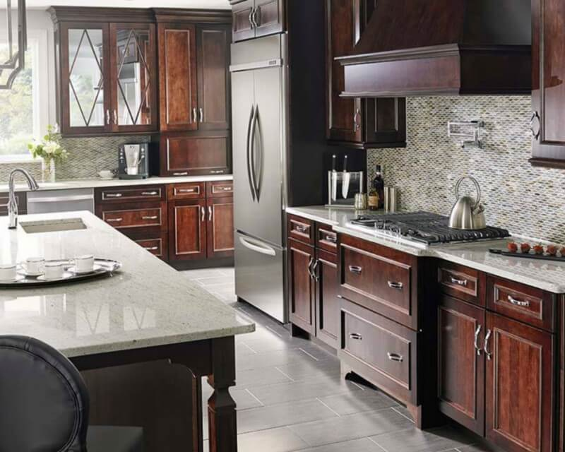 Glass Backsplash Tile Inspirations For Your Kitchen Msi Blog