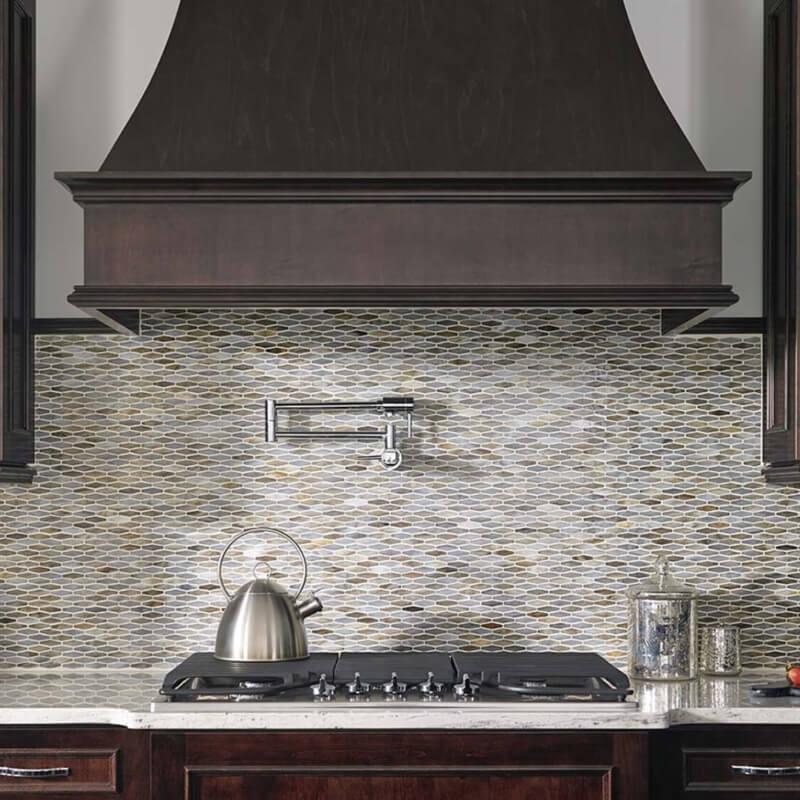 Mosaic Monday Glass Backsplash Tile Inspirations For Your