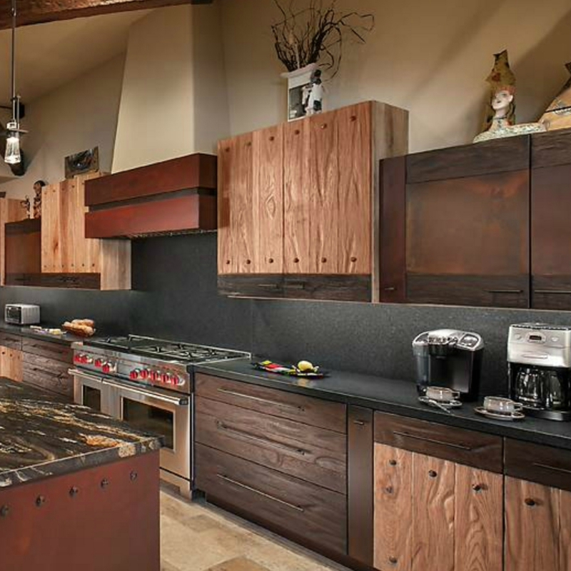 Natural Granite Kitchen Countertops to Extend Up Your ... on Backsplash For Black Granite  id=83354