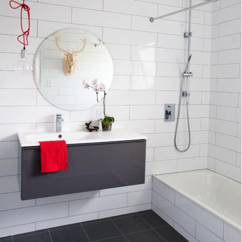 7 Unique Subway Tile Bathroom Remodels For Every Design
