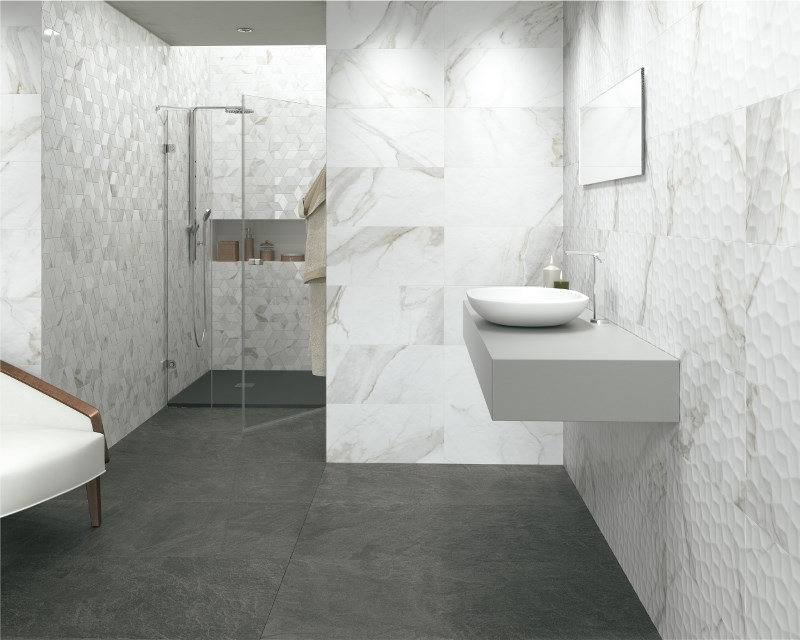 3D Looks: Taking Tile to New Dimensions