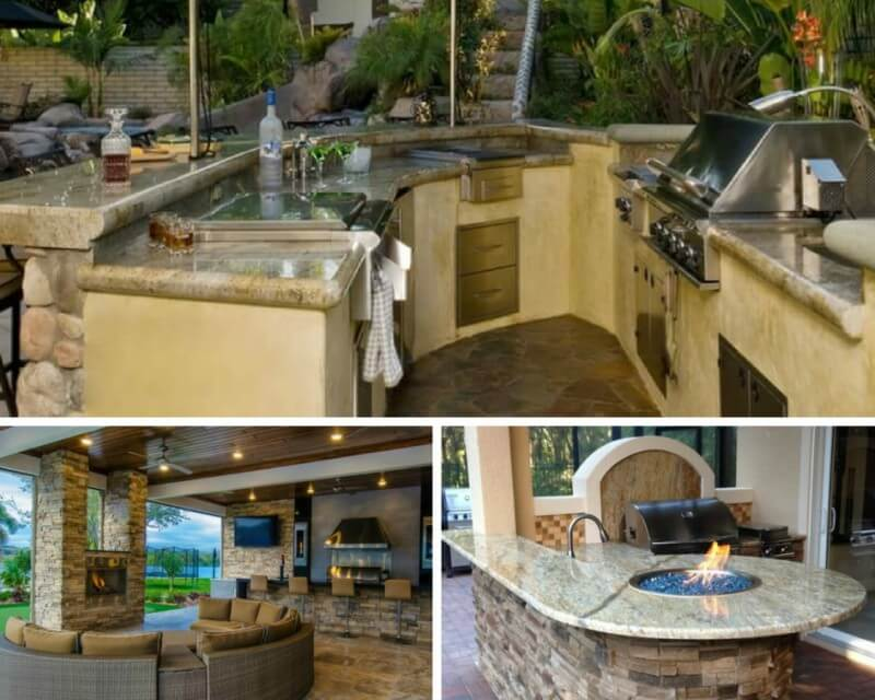 Outdoor Oasis: Hardscaped Outdoor Kitchens