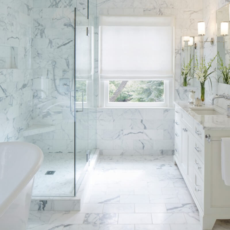 Clic Marble Tile Lookalikes In Porcelain