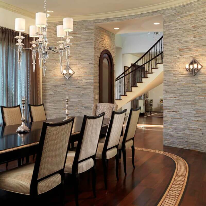 Modern Minimalism Stacked Stone Panels Redefined