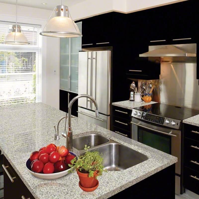 Classic Black And White Granite Countertops For A Dream Kitchen