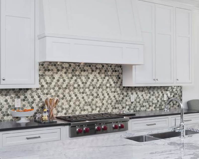 Nothing Gives A Room An Elegant Upgrade Or Fun Pop Of Color And Pattern Like Tile Backsplash Surround Accent Wall Not Only Does Protect