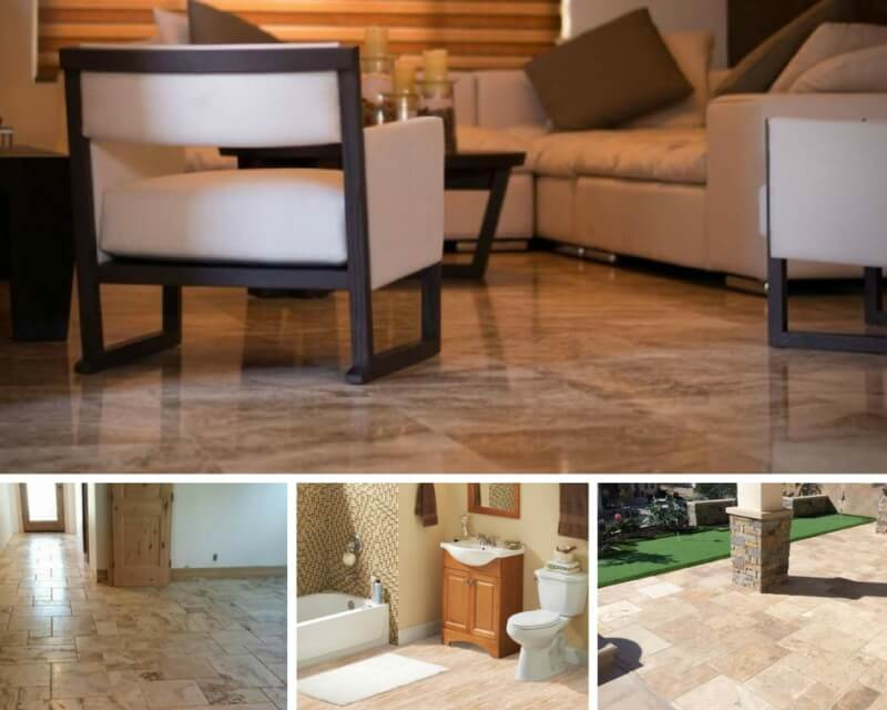 Natural Travertine Tile All Its Perks And Quirks