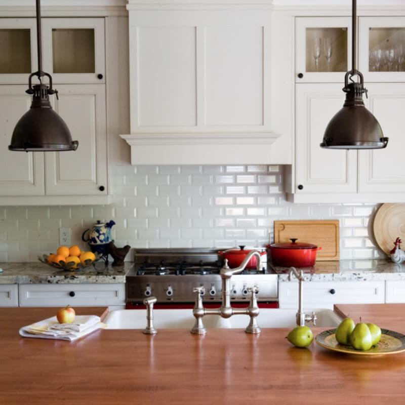 5 Fresh Takes On The Classic Subway Tile Kitchen Backsplash