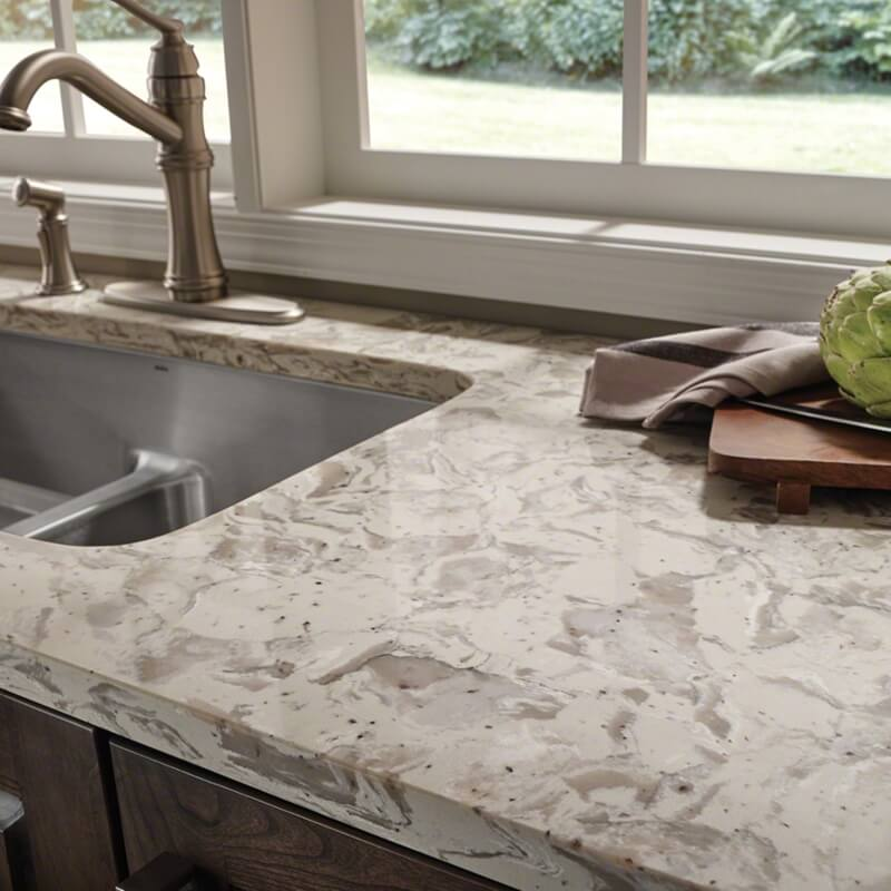 Carefree Quartz Countertops Engineered For Easy Care