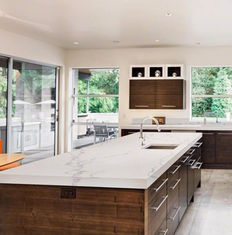 Cultured Marble And Quartz Countertops Natural Marble Double Takes