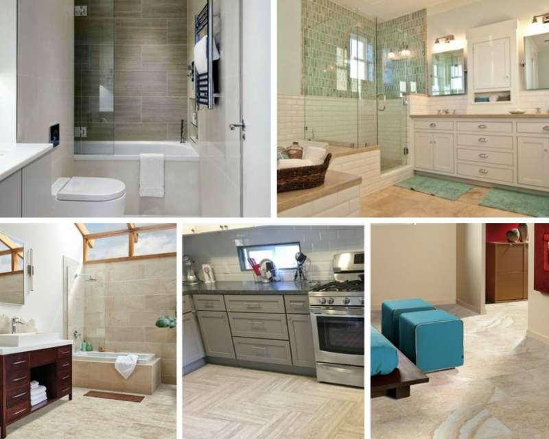 Tile Style: Affordable Options For Vein-Cut S