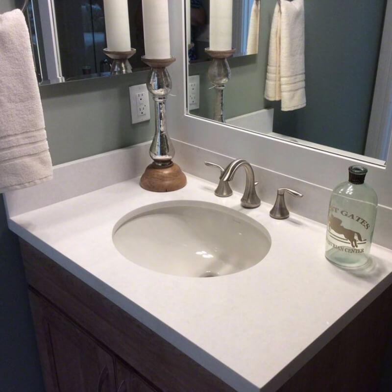 Cur White Quartz Countertops That Look