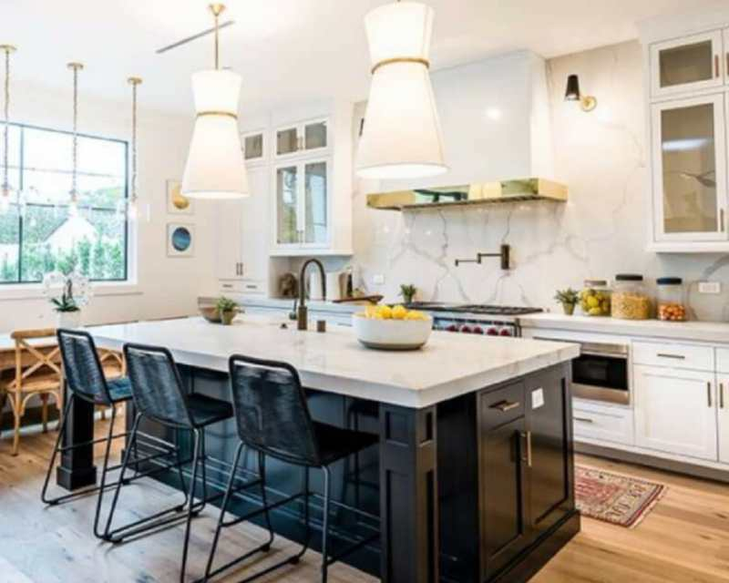 White Quartz Countertops That Hold A Candle To Carrara Marble