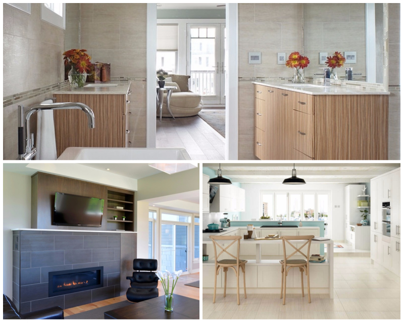 Tile Style: Contemporary and Natural Stone Ti