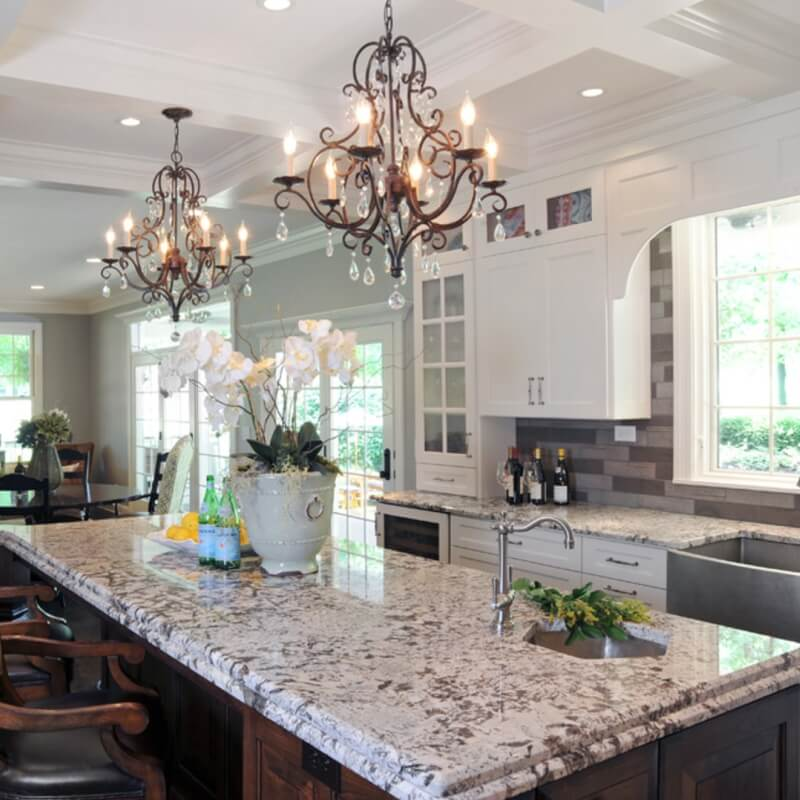 Are White Or Light Granite Countertops