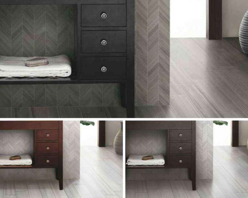 Tile Style: One Room, Three Looks with Plank