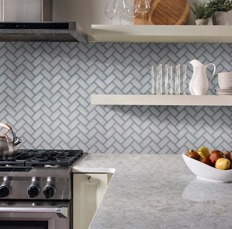 Essential Basics Of Glass Tile Backsplash Installation And