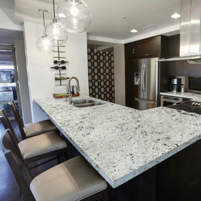 Are White Or Light Granite Countertops Practical For Kitchens
