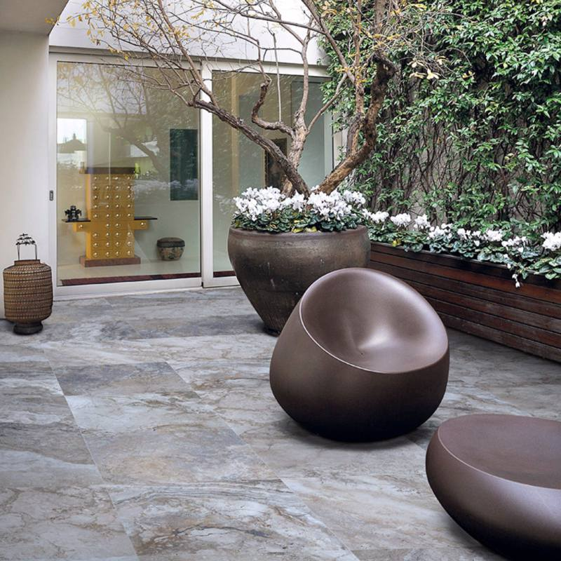 How To Choose Between Natural Stone Or Porcelain Pavers - Ceramic pavers outdoors