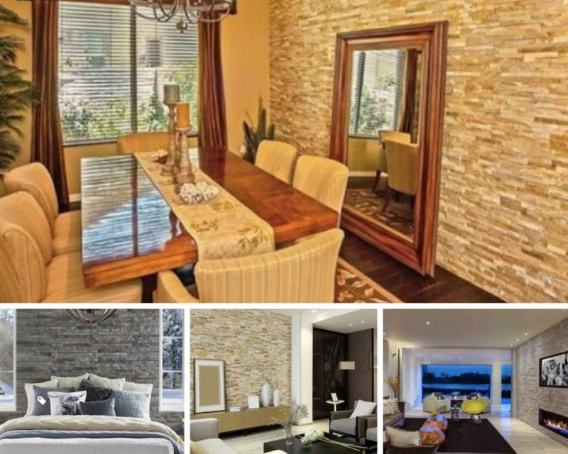 Stacked Stone Walls To Add Warmth And Character To Any Room