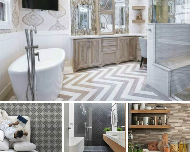 Tile Style: Fun Designs to Try with Modern Po