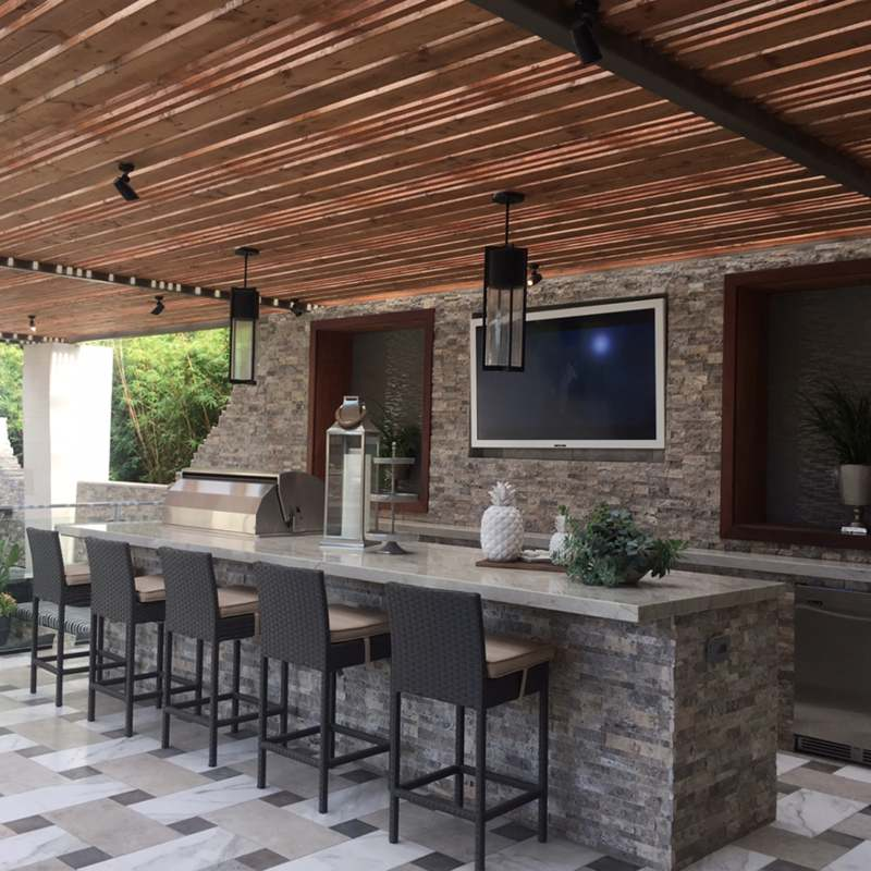 5 Mind Blowing Outdoor Upgrades With Natural Stacked Stone