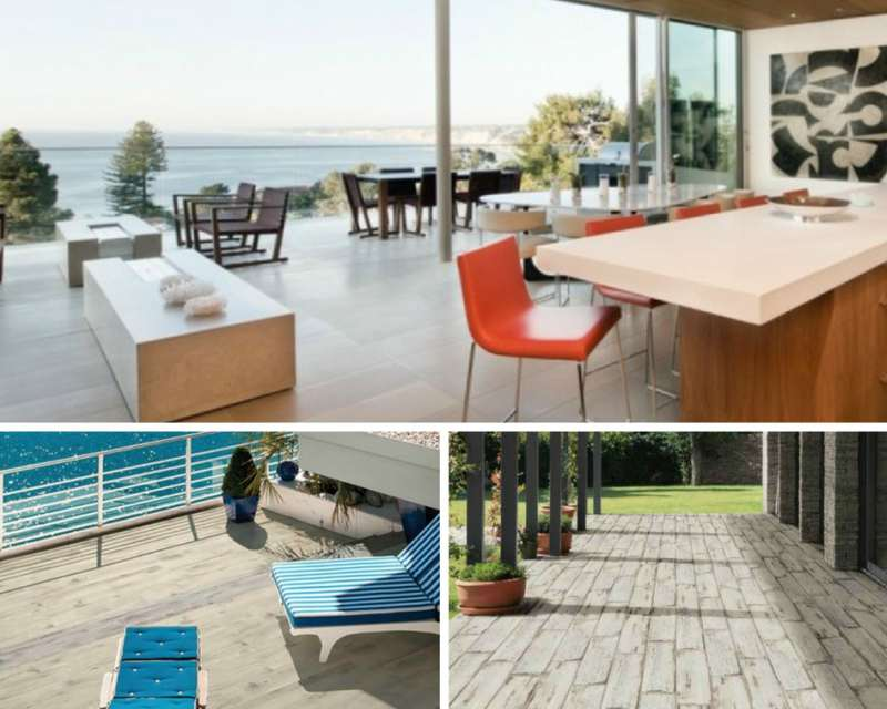 Modern Outdoor Porcelain Tile Hardscapes With Form And Function