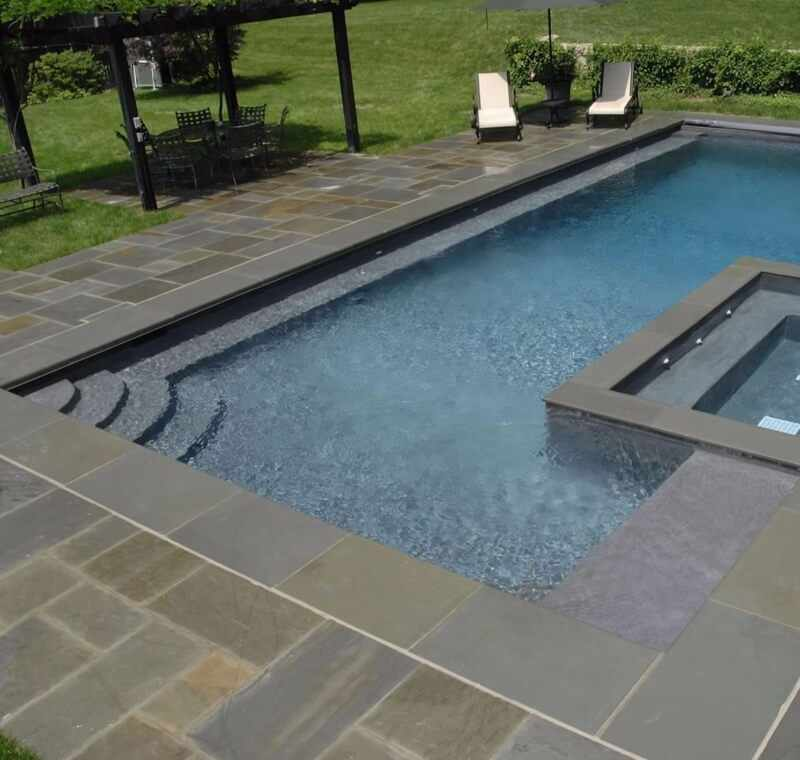 Outdoor Oasis Travertine Or Slate