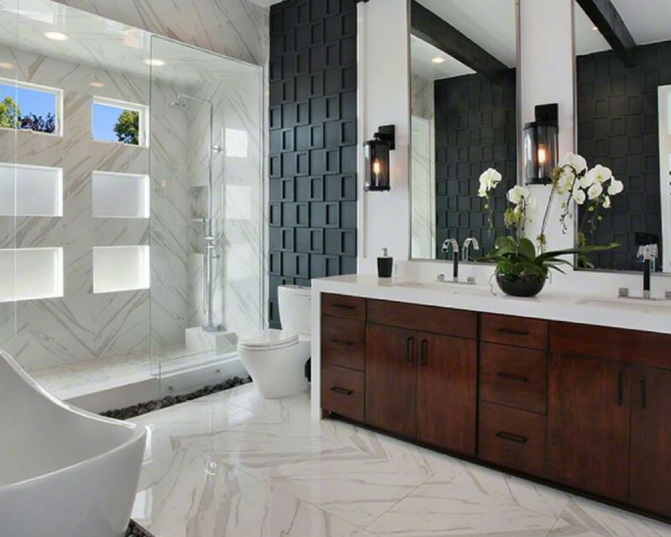 Tile Style: Porcelain Tile Isn't Going Anywhe