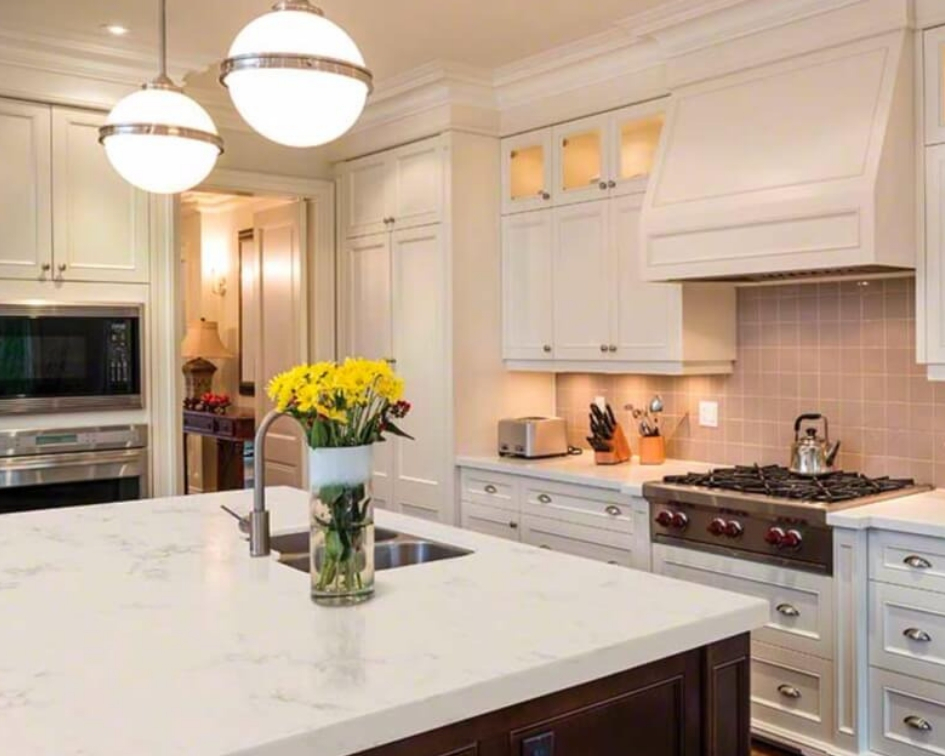 Light Colored Quartz Countertops That Can't B