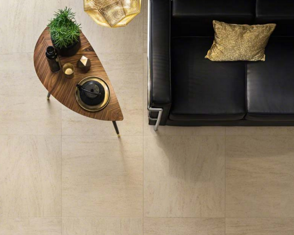Tricks to Making Beige Tile Flooring More Tre