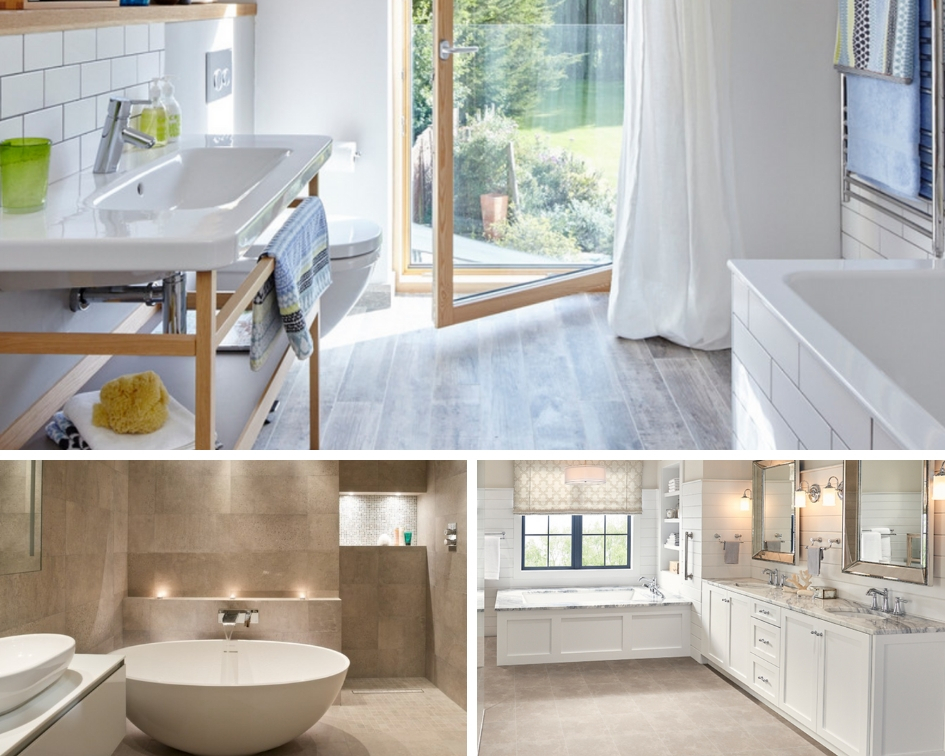 Perk Up your Bathroom with Fresh Ceramic Tile