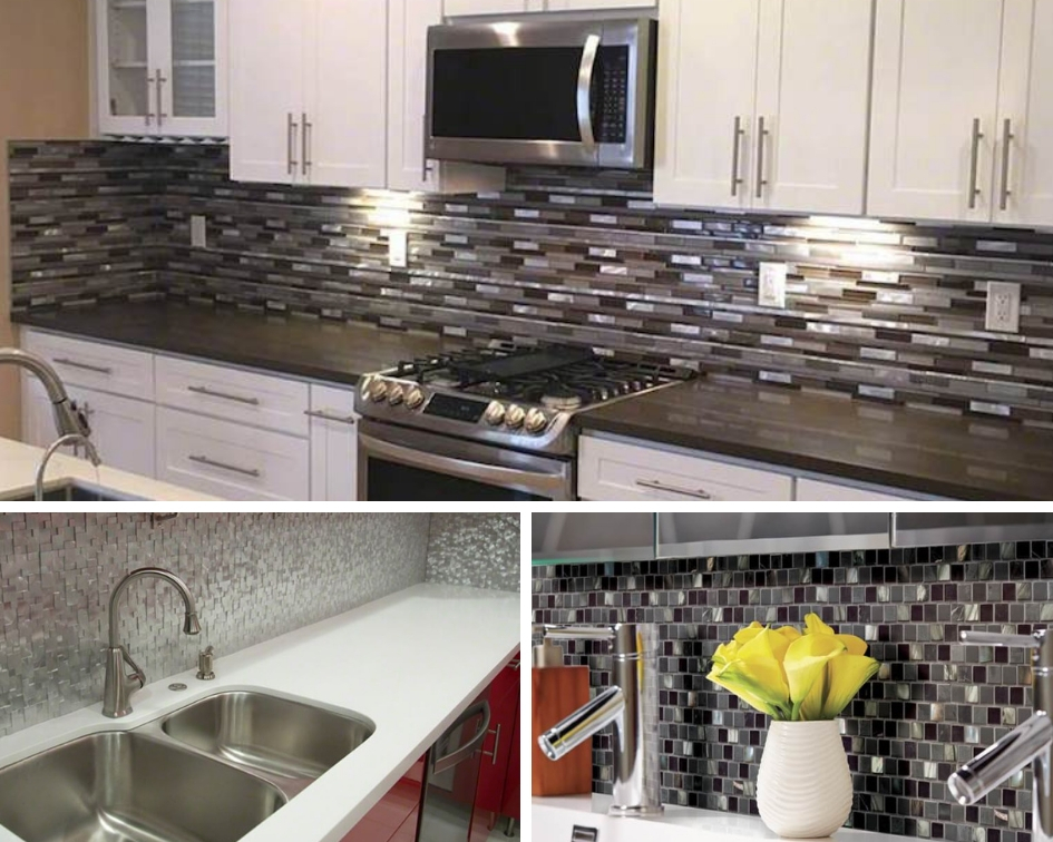 Insider Tips For A Successful Diy Metal Mosaic Backsplash Install