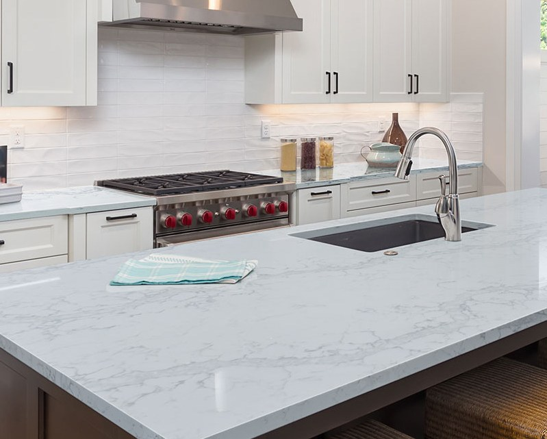 Marble-Look Quartz Dominates Home Remodels –