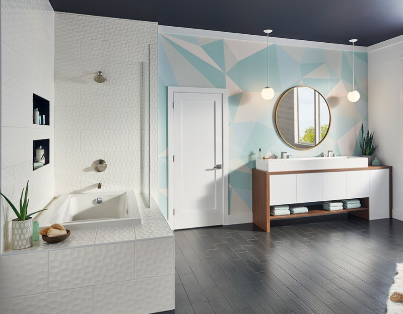 Unique 3 D Backsplashes To Wake Up Your Design