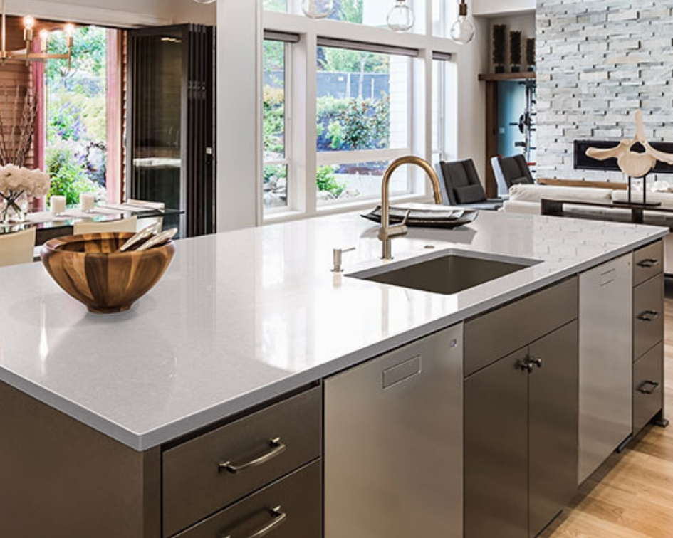 Move Over Concrete Counters — This is a Job f