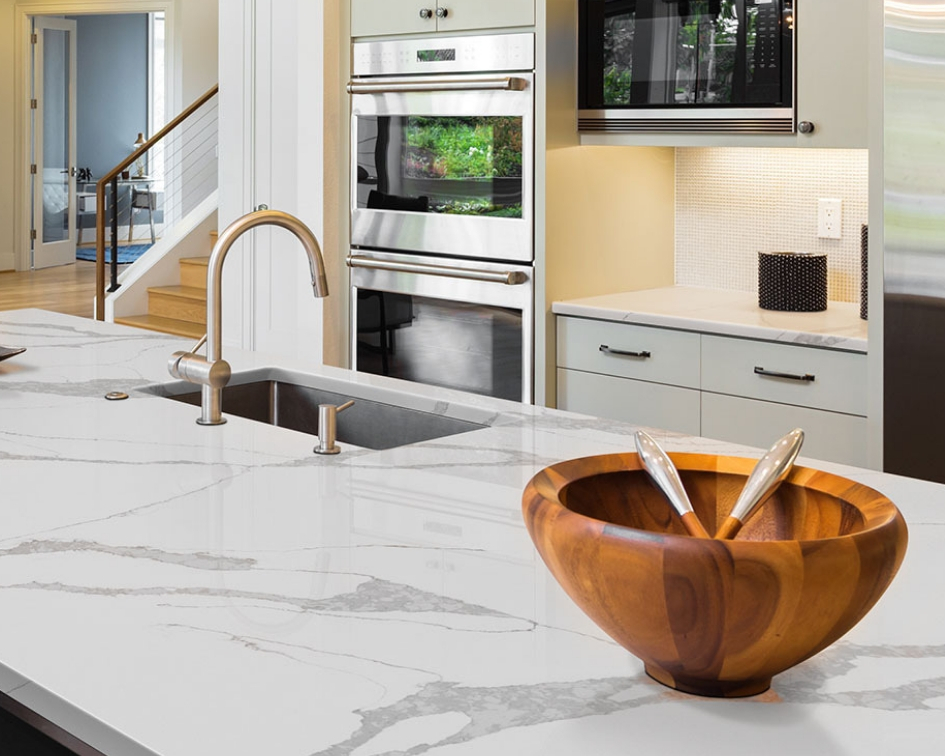 Coordinate Your Quartz Countertop To Your Kitchen Color Story