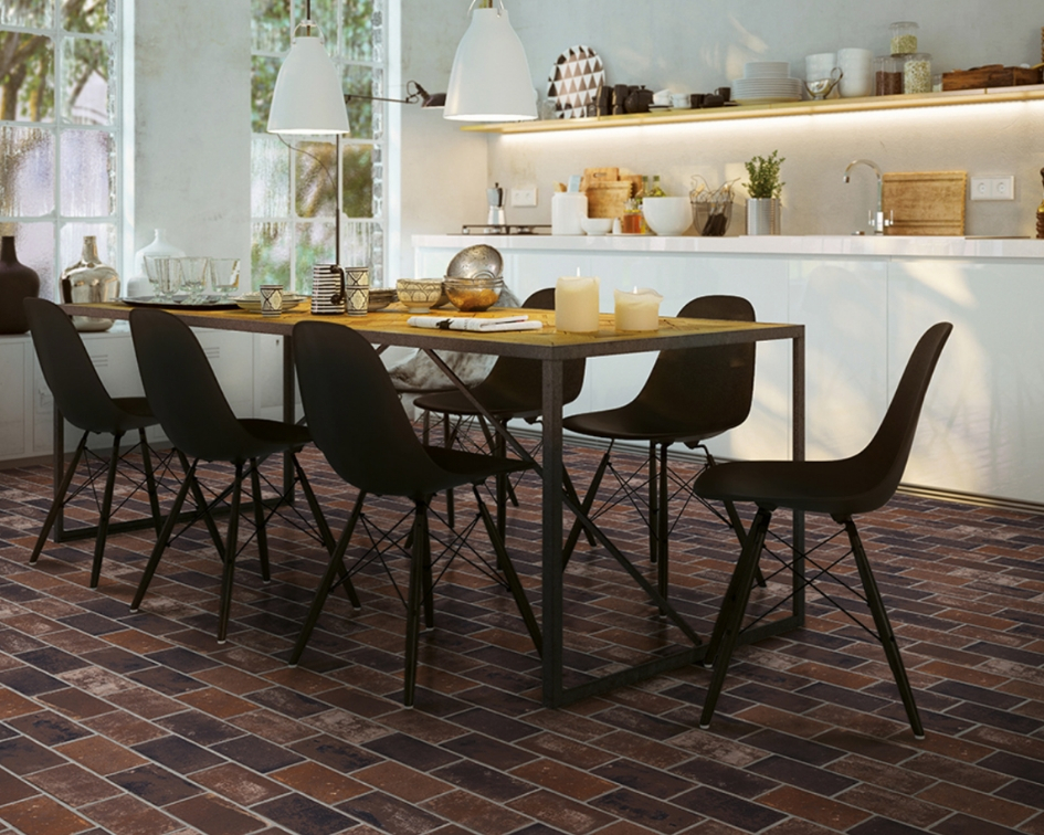 The Brickstone Porcelain Tile Collection: Bring Warmth and Richness to Your Space