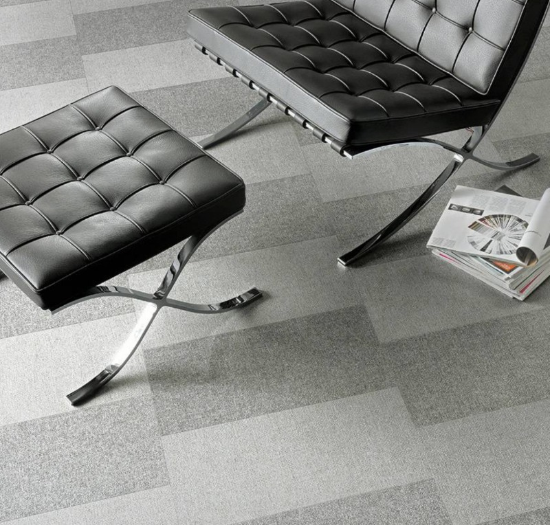 modern fabric tile flooring