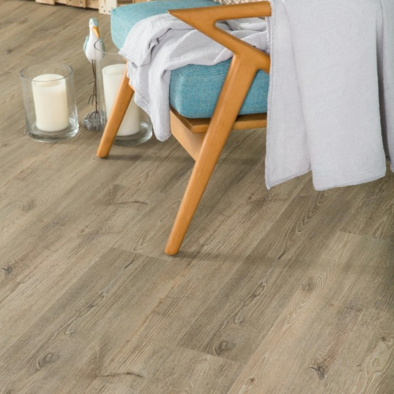 light wood look vinyl tile flooring that is budget friendly