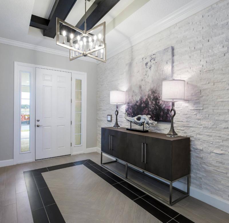 5 Stunning Indoor Outdoor Vertical Stacked Stone Accent Walls