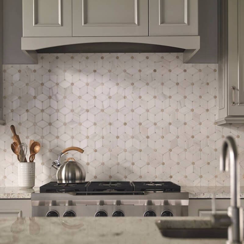 pattern mosaic kitchen backsplash